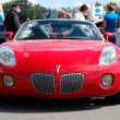 Stock Photo: KIEV - SEPTEMBER 11: Pontiac Solstice at Yearly automotive-show