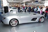 KIEV - SEPTEMBER 11: Mercedes-Benz SLR McLaren Stirling Moss at — Stock Photo