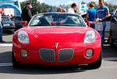 KIEV - SEPTEMBER 11: Pontiac Solstice at Yearly automotive-show — Stock Photo