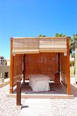 хижина спа массаж в роскошный отель, остров тенерифе, испания — Стоковое фото
