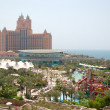 Stock Photo: DUBAI, UAE - AUGUST 28: Aquaventure waterpark of Atlantis th