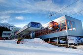 JASNA-JANUARY 9: Jasna Low Tatras is the largest ski resort in S — Stock Photo
