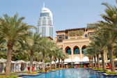 DUBAI, UAE - AUGUST 27: The Palace the Old Town luxury hotel on — Stock Photo