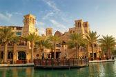 DUBAI, UAE - AUGUST 27: The Madinat Jumeirah the Arabian Resort — Stock Photo