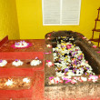 The bath for Ayurveda procedures in SPA at  popular hotel, Bento - Stok fotoğraf