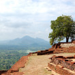 The view from Sigiriya (Lion's rock) is an ancient rock fortress — Stock Photo #8584705