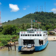 TRAT, THAILAND - SEPTEMBER 5: The Koh Chang ferry pier and ferry — Stock Photo #8585609