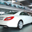 Stock Photo: KIEV - SEPTEMBER 11: New generation of Mercedes-Benz CLS-cla