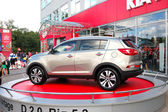 KIEV - SEPTEMBER 11: New generation of Kia Sportage at Yearly au — Stock Photo