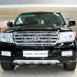 Постер, плакат: KIEV SEPTEMBER 11: Toyota Land Cruiser at Yearly automotive s