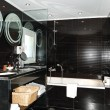 Bathroom in the luxury apartment, Crete, Greece - Foto de Stock