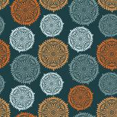 Retro hintergrund, nahtlose lochmuster, verzieren endlose textur — Stockvektor