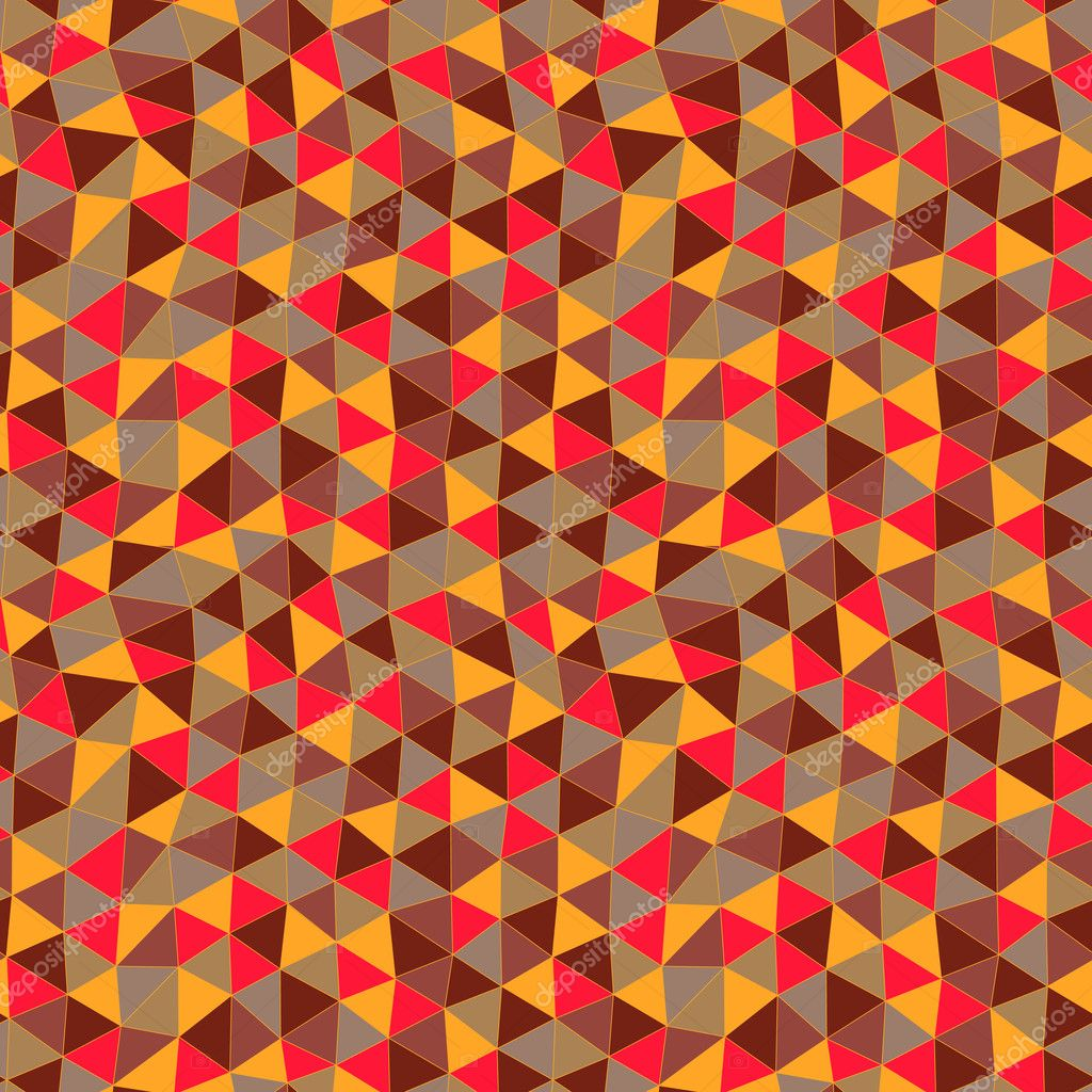 Geometric patterns with triangles