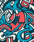Graffiti sketch with dragon — Stock Vector