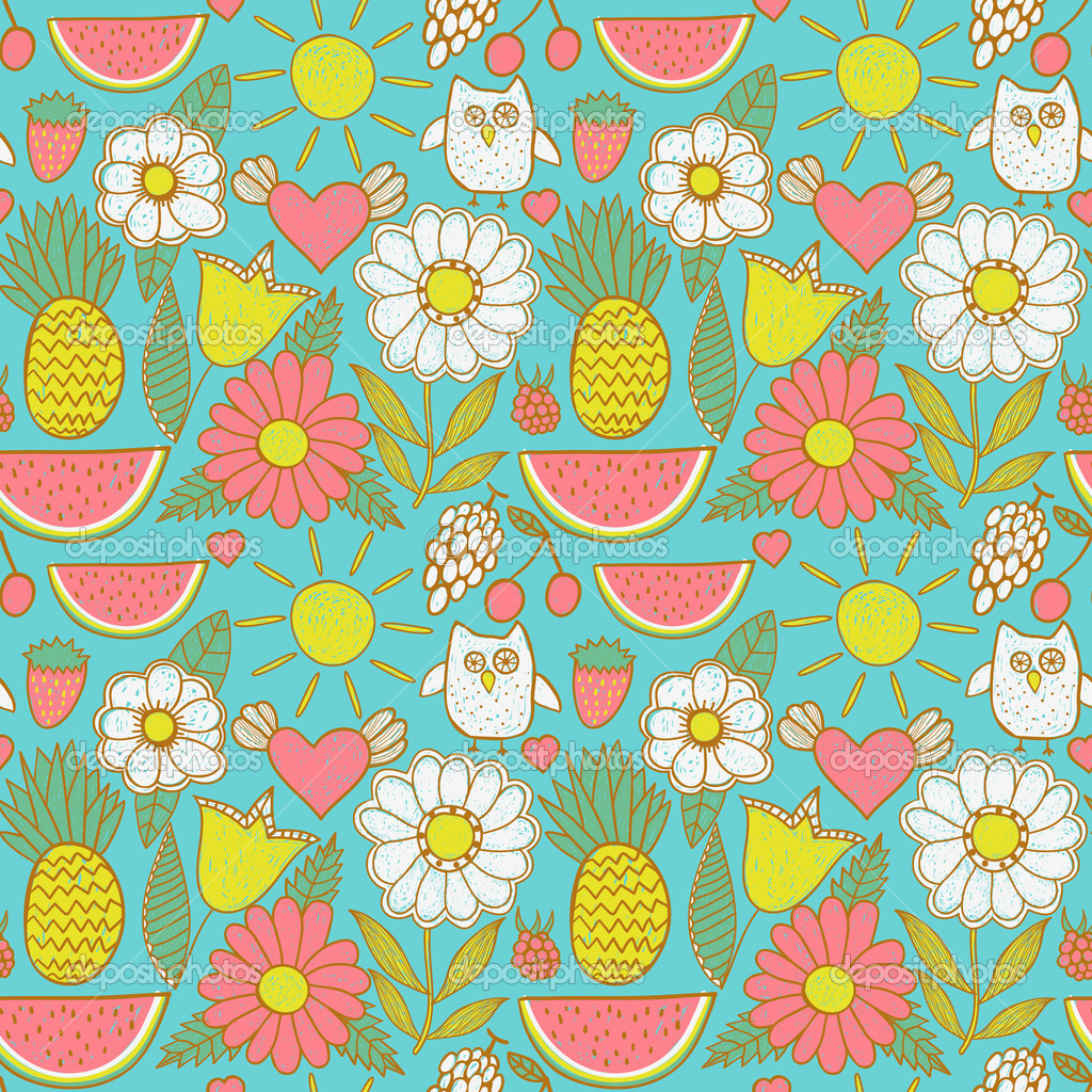 Twitter Backgrounds Cute Pattern