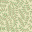 Seamless leaf pattern. Seamless pattern can be used for wallpape - Stock Vector