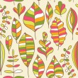 A seamless pattern with leaf,autumn leaf background — Stock Vector #8130605