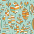 A seamless pattern with leaf,autumn leaf background — Stock Vector #8136141