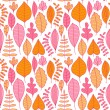 A seamless pattern with leaf,autumn leaf background — Stock Vector #8136152