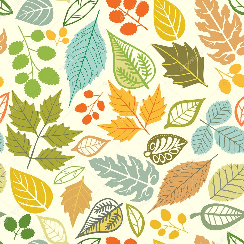 ... With Leaf,autumn Leaf Background — Stock Vector - 1024x1024 - jpeg