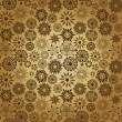 Ornate floral seamless texture, — 图库矢量图片