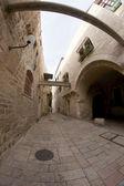 老耶路撒冷街道 — 图库照片