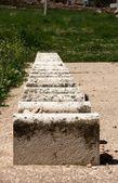 Vieux cimetière juif de hébron — Photo