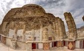 Masada fortress and king Herod's palace in Israel judean desert travel — Stock Photo