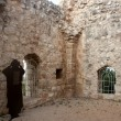 Crusaders castle ruins in Galilee — Stock Photo
