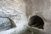 Old jewish caves in Beit Shearim — Stock Photo