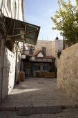 Old jerusalem streets — Stock Photo