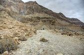 Desierto de judea, cerca del mar muerto — Foto de Stock