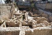City of David excavations — Stock Photo