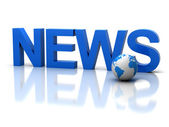News 3d — Stock Photo