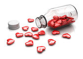 Love pills — Stock Photo