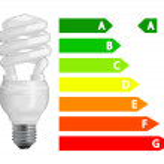 Energy efficiency light bulb — Stock Vector