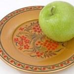 zielone jabłko — Zdjęcie stockowe