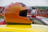 Racing helmet. — Stock Photo