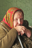 Elderly woman — Foto Stock