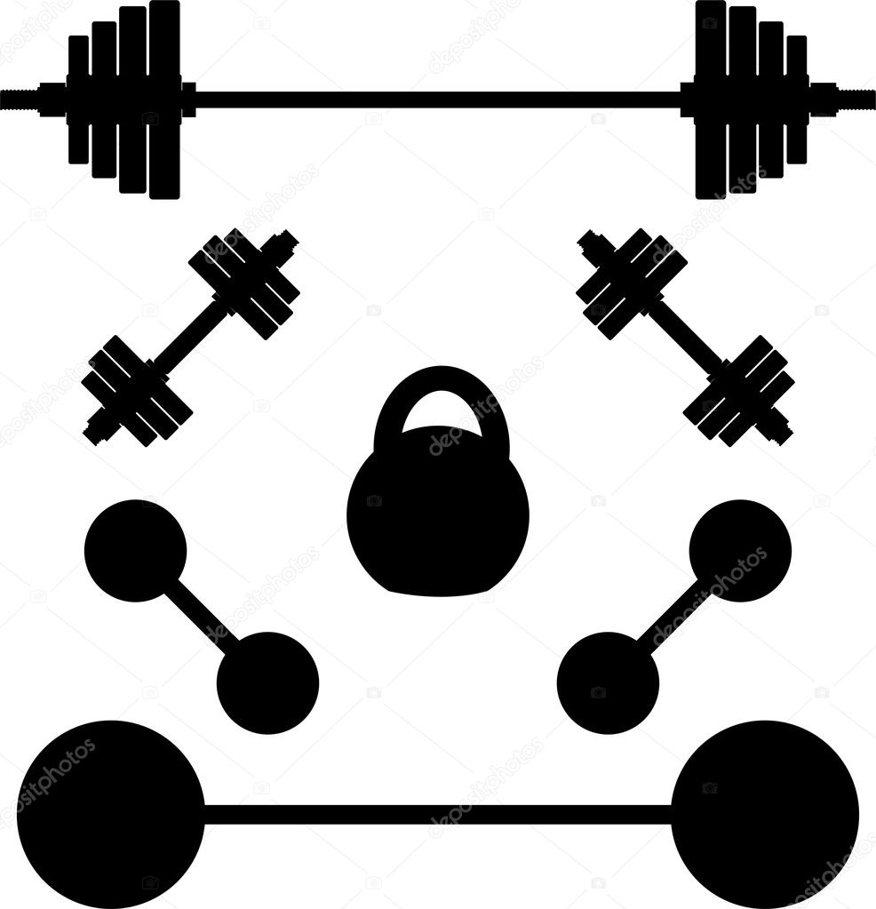 Galleries Relate...Barbell Vector