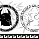 Постер, плакат: Fantasy ancient helmets