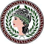 Patrician women — Stock Vector