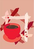 Tasse kaffee — Stockfoto