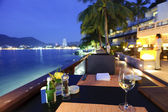 Tropiska restaurang — Stockfoto