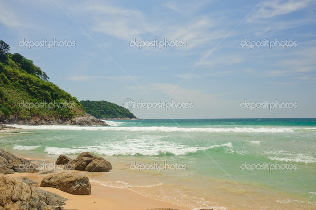 One of the beach of Phuket, Thailand — Stock Photo #9779486