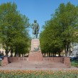 Stock Photo: Monument to composer Glinka