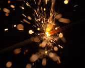 Scintille celebrativo — Foto Stock