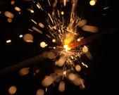 Celebratory sparks — Stock Photo