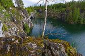Agua color turquesa — Foto de Stock