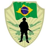 Army of Brazil — Stock Vector